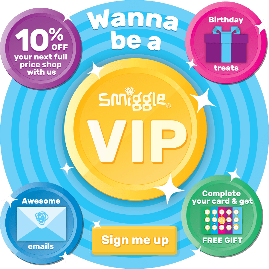Smiggle Be A Vip