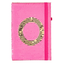 Alpha Sequin A5 Notebook
