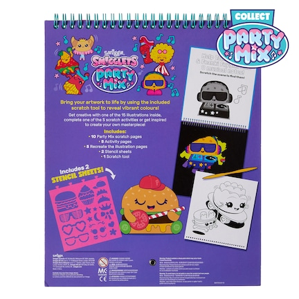 Smigglets Scratch Activity Book