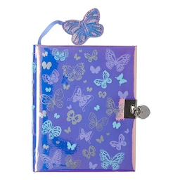 Glam Small Lockable Notebook