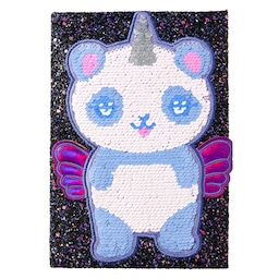 Cutiecorns A5 Reversible Sequins Notebook