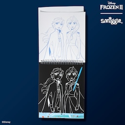 Disney's Frozen 2 Elsa And Anna Scratch Art