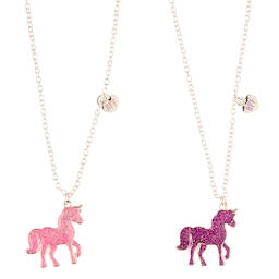 Imagine Bff Sparkly Unicorn Necklace X2