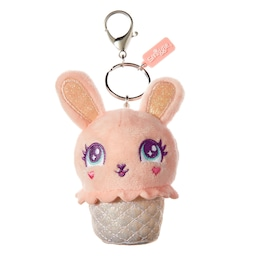 Squeeze Me Fluffy Keyring