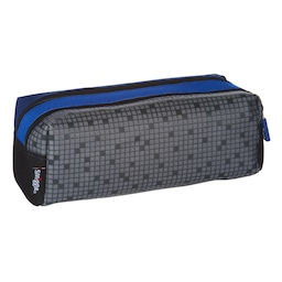 Block Twin Zip Pencil Case