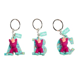 Unicorn Scented Alphabet Keyring