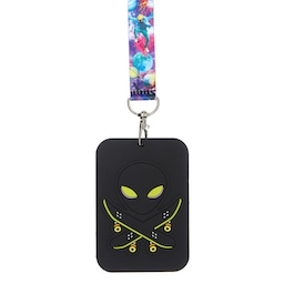 Galaxy Bus Pass Lanyard