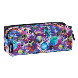 Galaxy Twin Zip Pencil Case