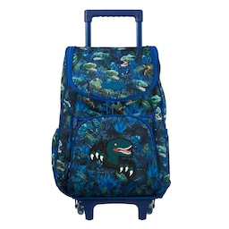 Galaxy Access Trolley Backpack With Light Up Wheels