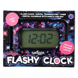 Galaxy Flashy Clock