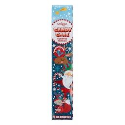 Christmas Candy Cane Scented Pencils X4