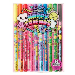 Happy Friends Scented Ballpoint Pens Pack X10