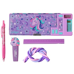 Fave Unicorn Pencil Case And Stationery Gift Bundle