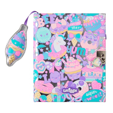 Flashy A5 Lockable Notebook