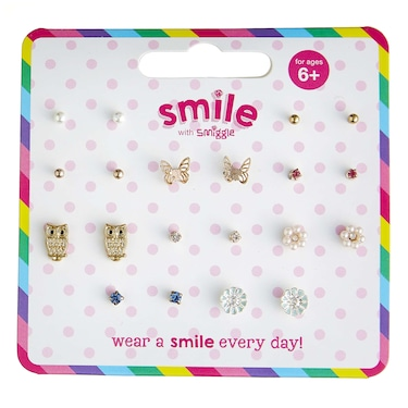 Smile Charming Earring Pack X 10