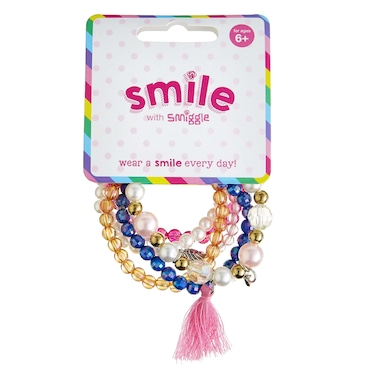 Smile Feature Bracelet Pack X 5