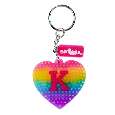 Light Up Alphabet Luv Spike Key Ring