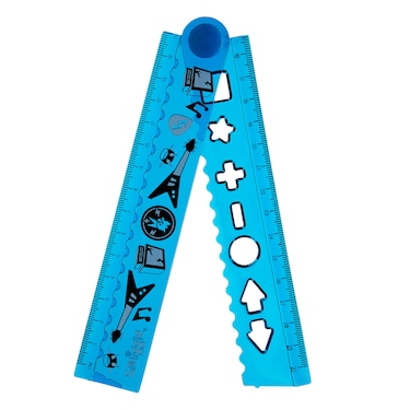 Into The Woods Silicone Fold Up Ruler