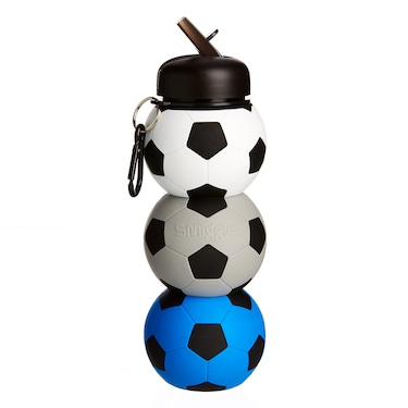 Football Silicone Water Bottle