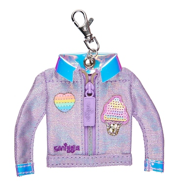 Badge Jacket Purse Keyring