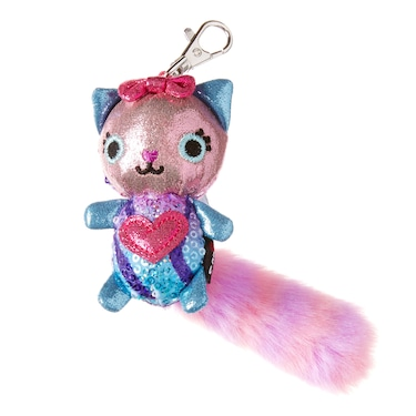 Scented Fluffy Shimmer Character Keyring