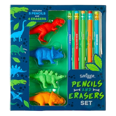 Pencil And Erasers Set Gift Box