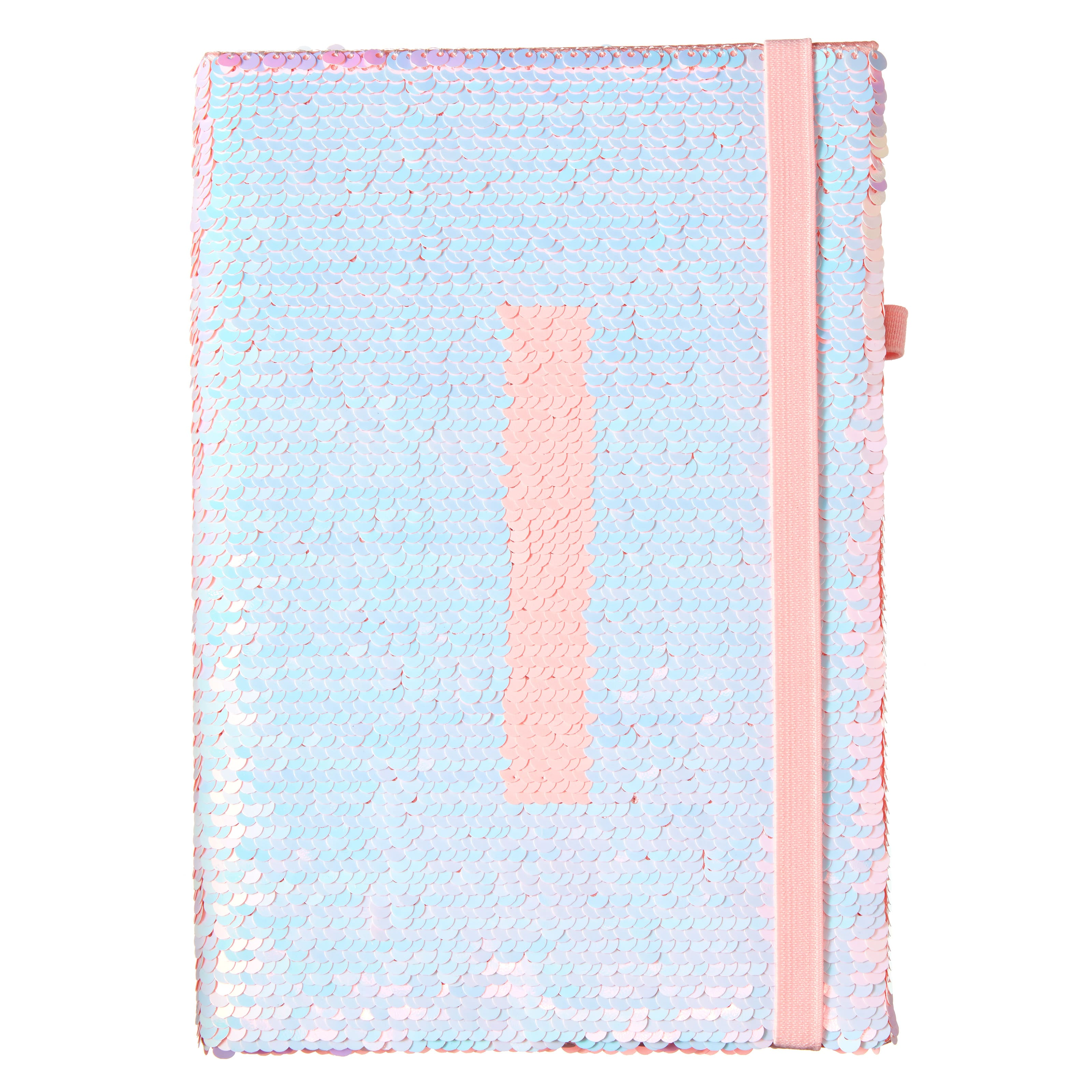 Shimmy Alpha Sequin A5 Notebook