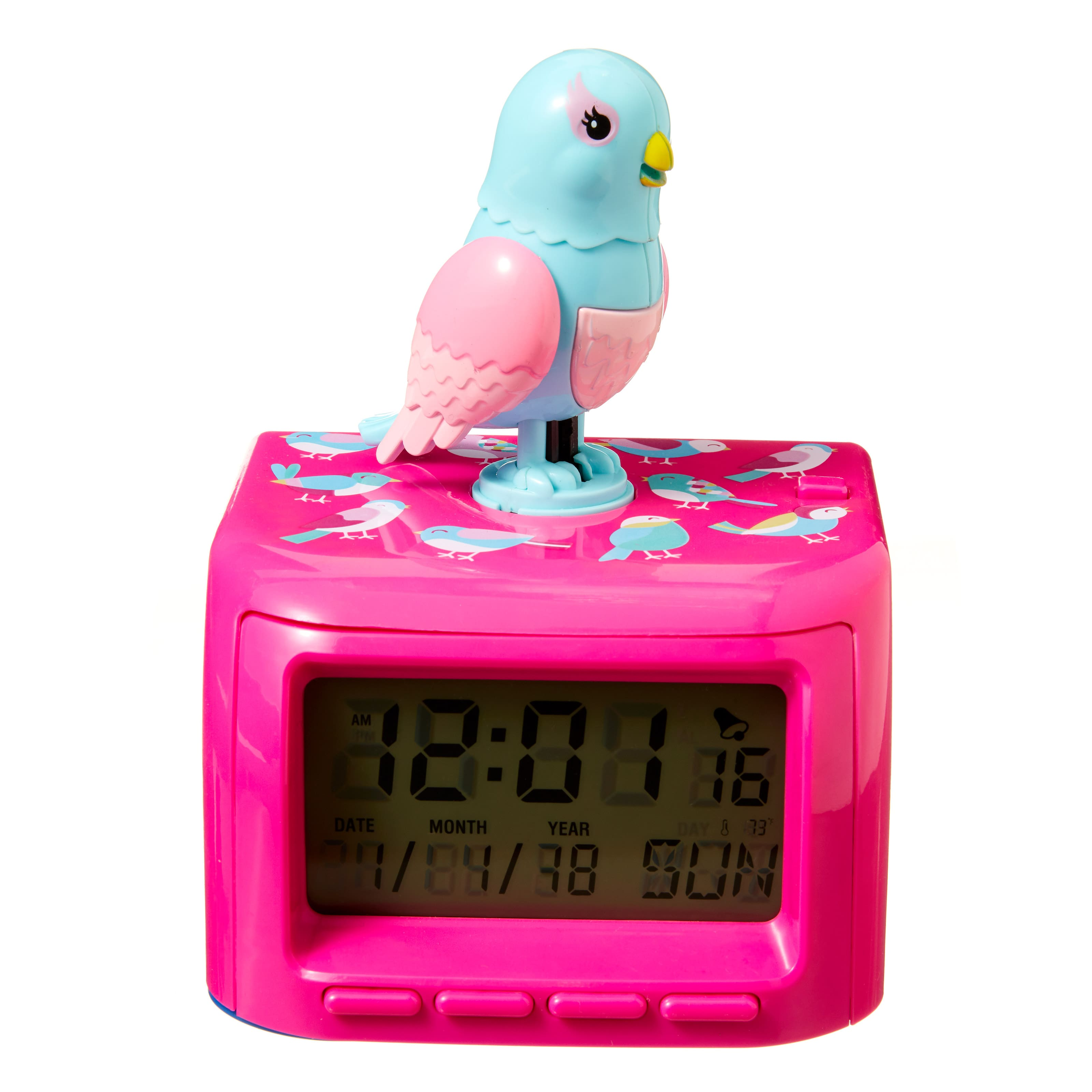Chirp N Chomp Clock