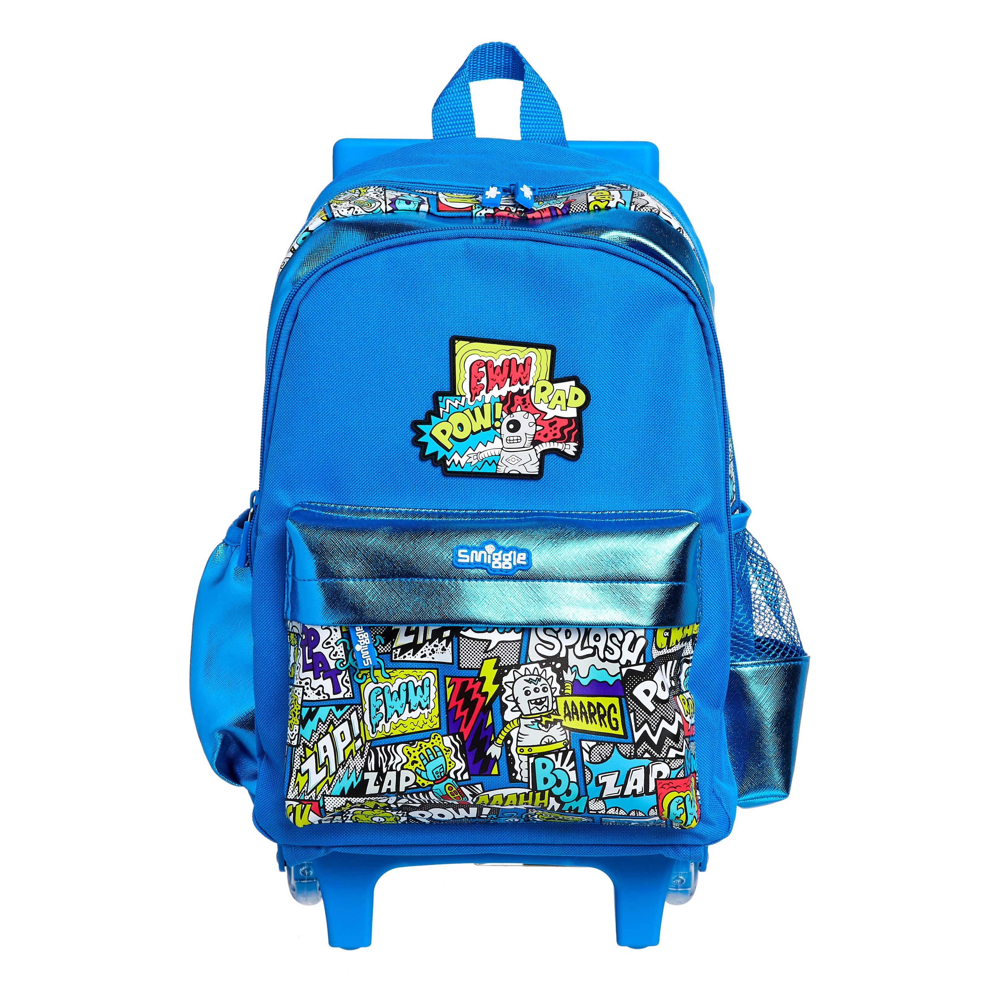 Wonder Junior Backpack Trolley With Light Up Wheels